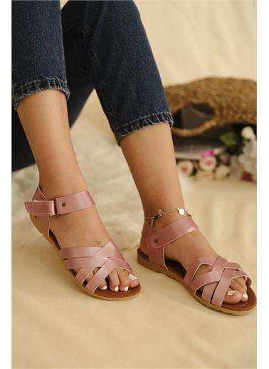 Oksit Spor Sandalet Pudra